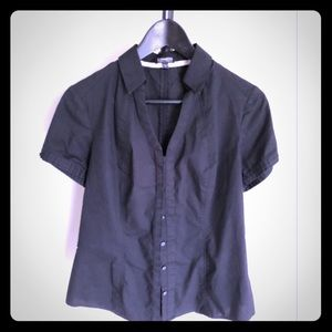 Express Essential Stretch Button Down